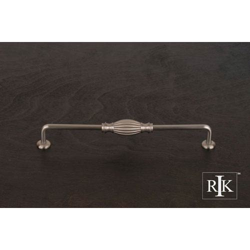 RK International Inc Pewter Indian Drum Vertical Pull