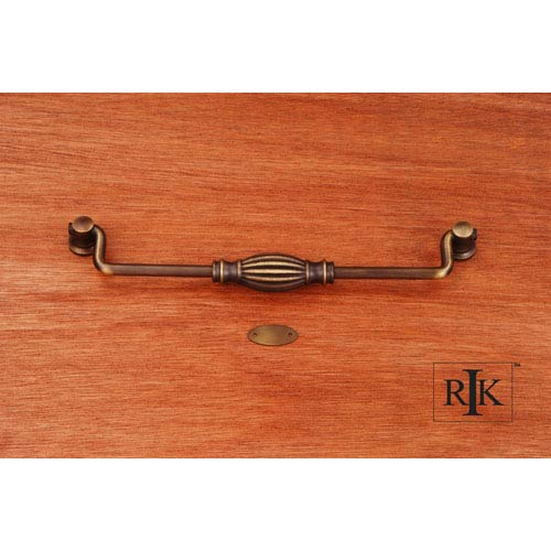 RK International Inc Antique English Indian Drum Hanging Pull