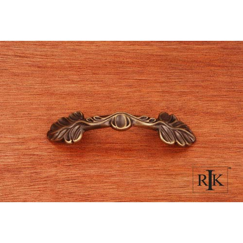 RK International Inc Antique English Two Leaf Pull