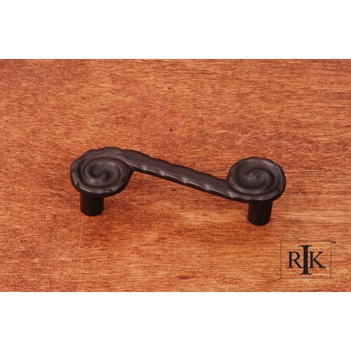 RK International Inc Oil Rubbed Bronze Waves at End Pull