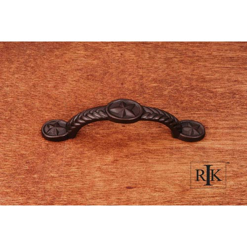 RK International Inc Oil Rubbed Bronze Rugged Texas Star Pull