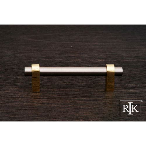 Pewter and Brass Plain Rod Pull