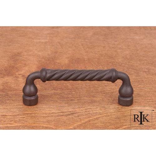 Oil Rubbed Bronze Twisted Pull