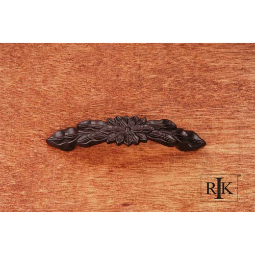 RK International Inc Oil Rubbed Bronze Flower Pull