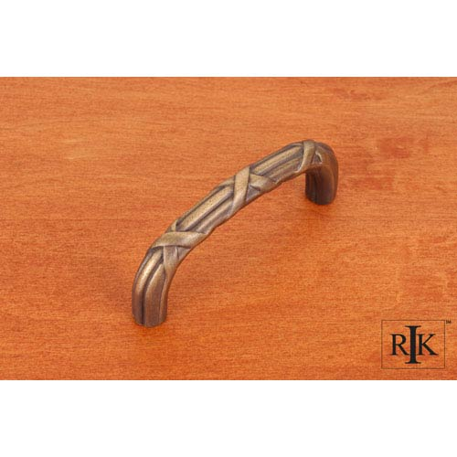 RK International Inc Antique English Lines and Crosses Pull
