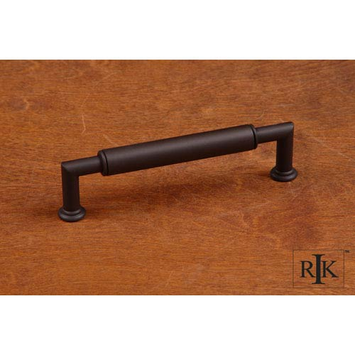 RK International Inc Oil Rubbed Bronze Cylinder Middle Pull