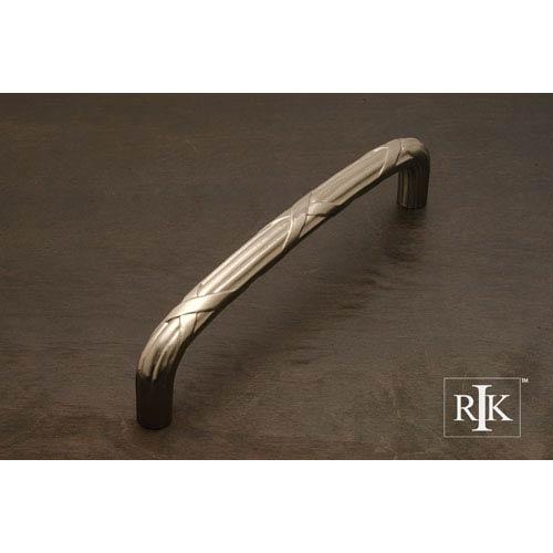 RK International Inc Pewter Lines and Crosses Door Pull