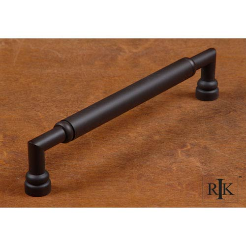 Oil Rubbed Bronze Cylinder Middle Door Pull
