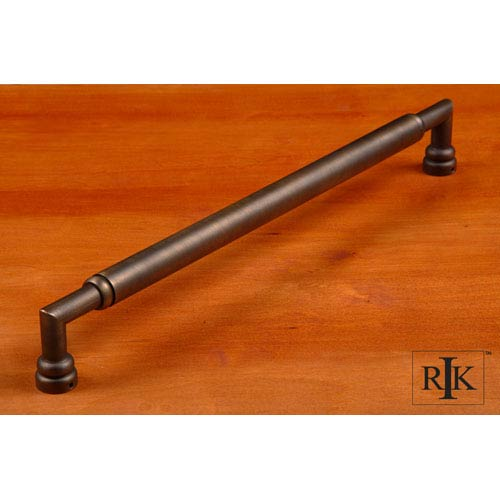 RK International Inc Antique English Cylinder Middle Door Pull