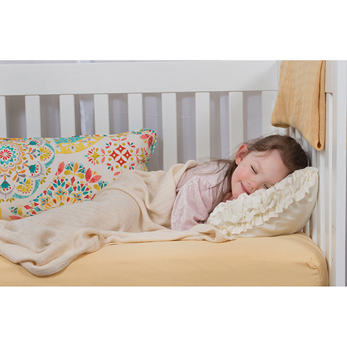 Butter Rayon from Bamboo Crib Sheet