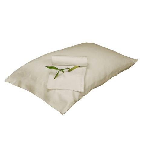 Ivory Rayon from Bamboo Full/Standard Pillowcase Set