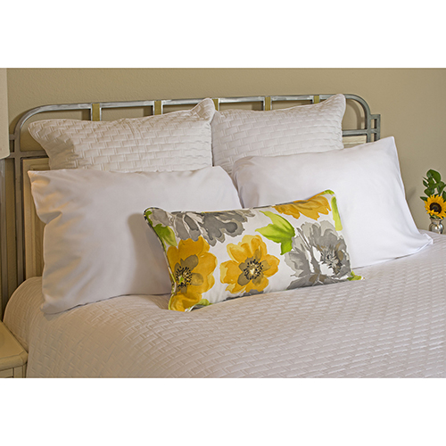 White Rayon from Bamboo Queen Coverlet