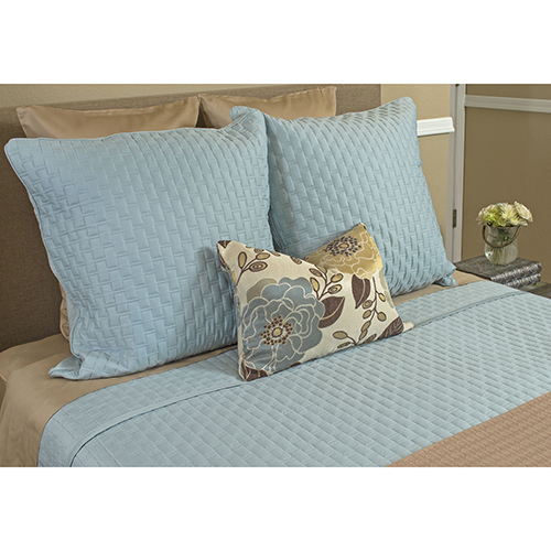Sky Rayon from Bamboo Queen Coverlet