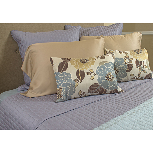Platinum Rayon from Bamboo Queen Coverlet