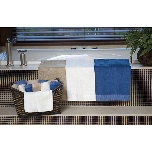 White Rayon from Bamboo blend Resort Bath Towels