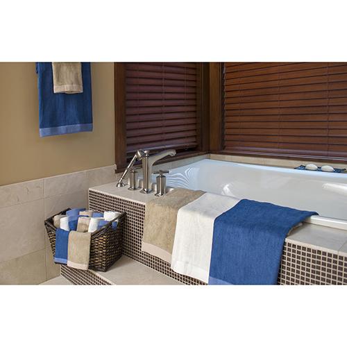 Indigo Rayon from Bamboo Eight-Piece Towel Set