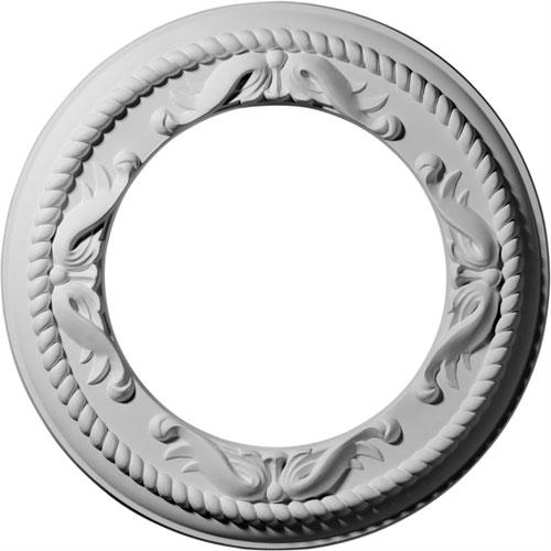 Ekena Millwork Roped Medway Ceiling Medallion