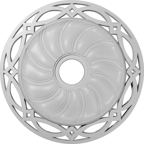Ekena Millwork Loera Ceiling Medallion
