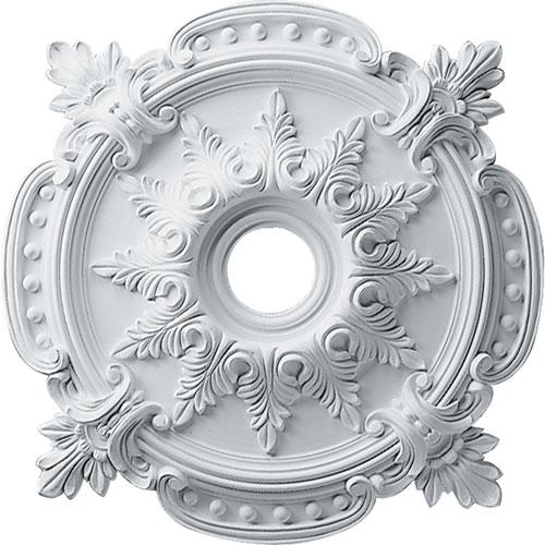 2 piece ceiling medallion bellacor ekena millwork benson classic ceiling medallion aloadofball Image collections