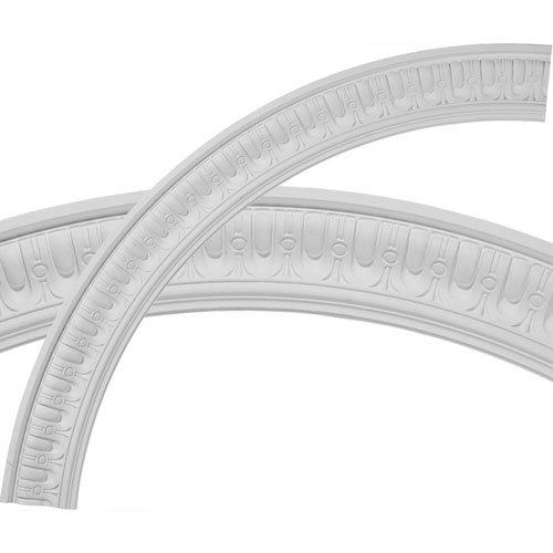 Ekena Millwork Sequential Ceiling Ring, 1/4 of Complete Circle
