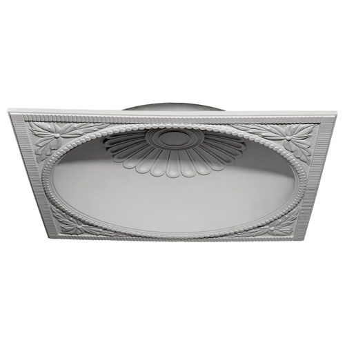Ekena Millwork Salem Recessed Mount Ceiling Dome