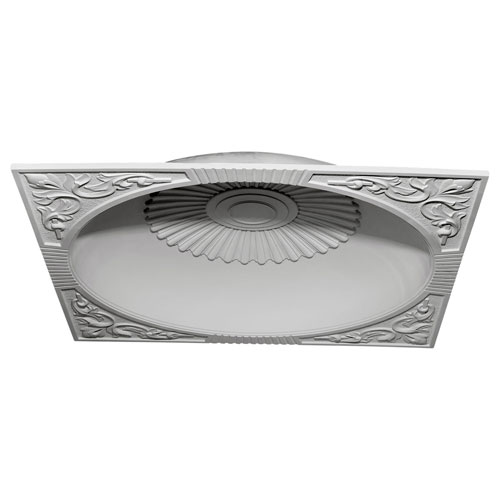 Ekena Millwork Sussex Recessed Mount Ceiling Dome