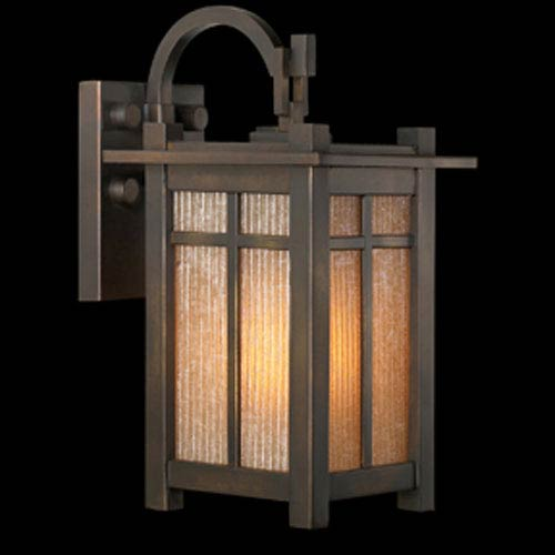 Capistrano Two-Light Outdoor Wall Mount in Warm Bronze Patina Finish