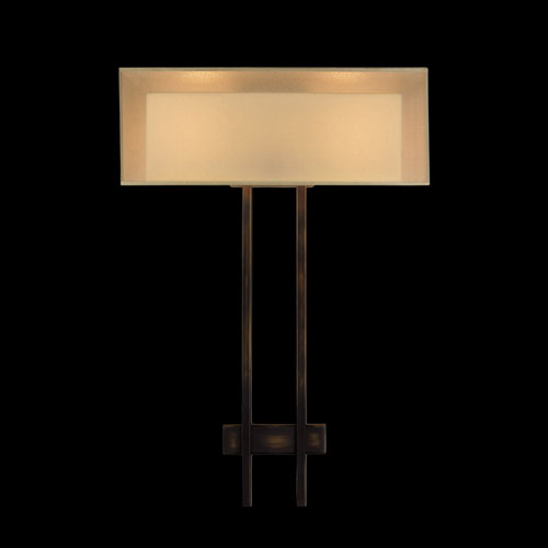 Quadralli Two-Light Wall Sconce in Bourbon Finish