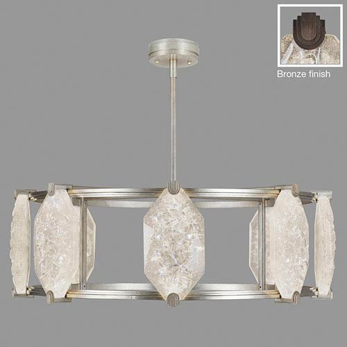 Fine Art Lamps Allison Paladino Bronze 24-Light LED 14.75-Inch Pendant