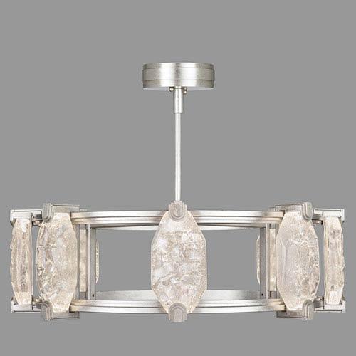 Allison Paladino Silver Leaf 16-Light LED 9.5-Inch Pendant