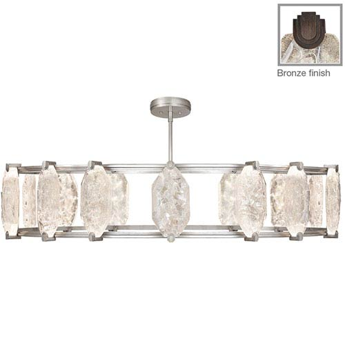 Fine Art Lamps Allison Paladino Bronze 24-Light LED 14.5-Inch Pendant