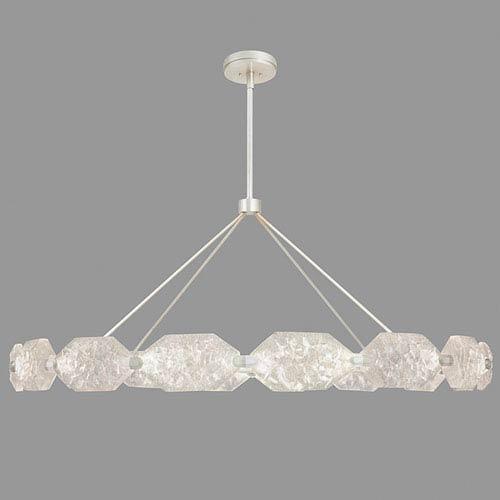 Fine Art Lamps Allison Paladino Silver Leaf 32-Light LED 30-Inch Pendant