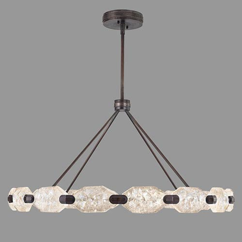 Fine Art Lamps Allison Paladino Bronze 32-Light LED 24-Inch Pendant