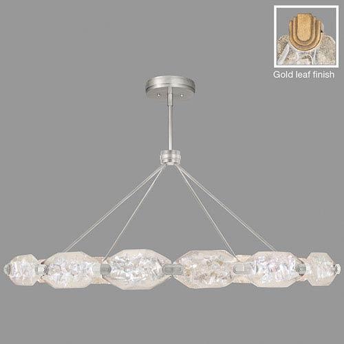 Fine Art Lamps Allison Paladino Gold Leaf 24-Light LED 24-Inch Pendant