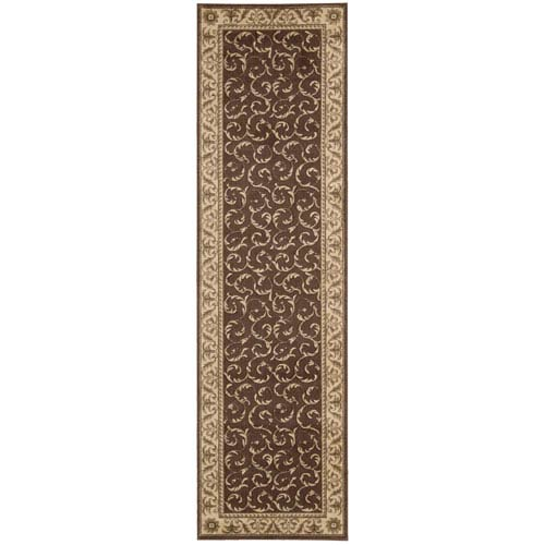 Somerset Brown Runner: 2 Ft. 3 In. x 8 Ft. Rug