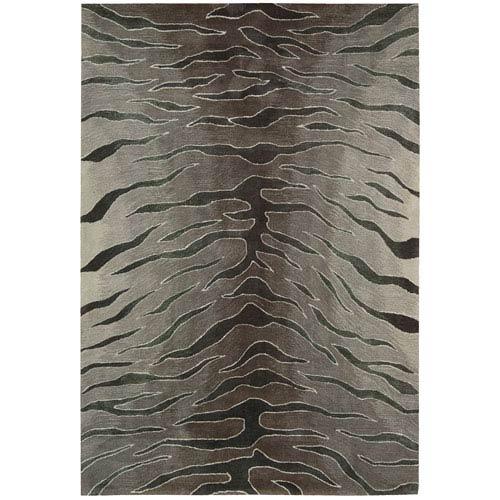 Nourison Contour Silver Rectangular: 5 Ft. x 7 Ft. 6 In. Rug