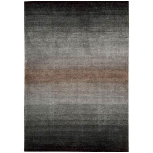 Nourison Contour Grey Rectangular: 5 Ft. x 7 Ft. 6 In. Rug