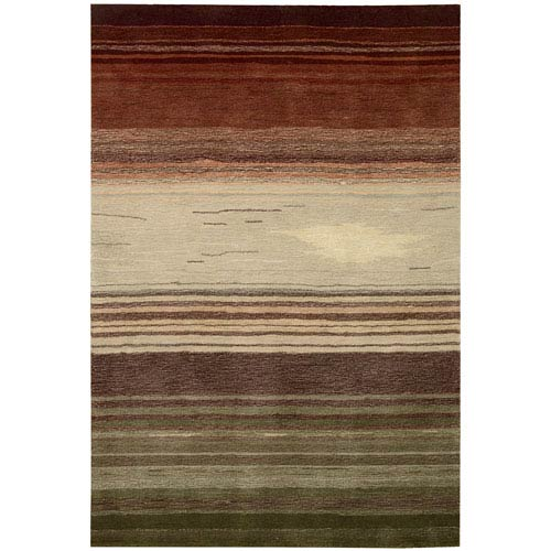 Nourison Contour Forest Rectangular: 5 Ft. x 7 Ft. 6 In. Rug