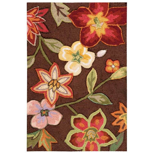 Fantasy Chocolate Rectangular: 1 Ft. 9 In. x 2 Ft. 9 In. Rug