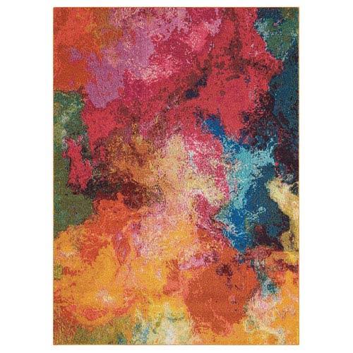 Celestial Palette Rectangular: 3 Ft. 11 In. x 5 Ft. 11 In. Rug