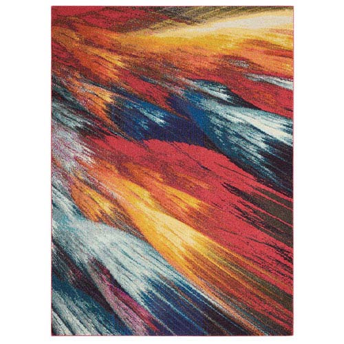 Celestial Burst Rectangular: 3 Ft. 11 In. x 5 Ft. 11 In. Rug