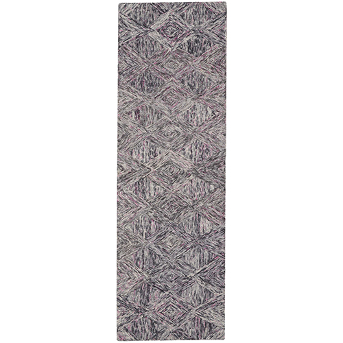 Linked Heather Runner: 2 Ft. 3 In. x 7 Ft. 6 In. Rug