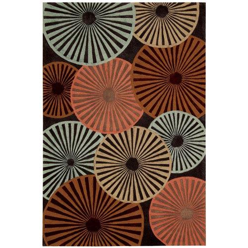 Nourison Contour Multi-Colored Rectangular: 5 Ft. x 7 Ft. 6 In. Rug