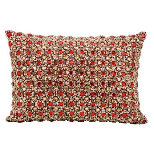 Ruby 10 x 14-Inch Decorative Pillow