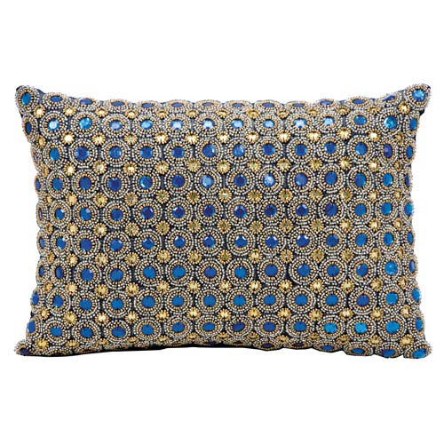Sapphire 10 x 14-Inch Decorative Pillow