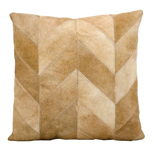 Beige 20-Inch Decorative Pillow