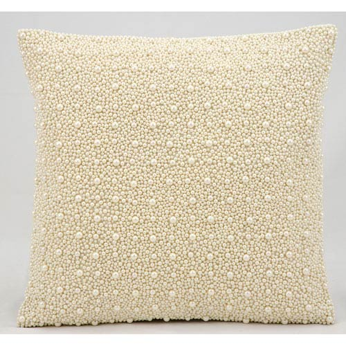 Ivory 16-Inch Decorative Pillow