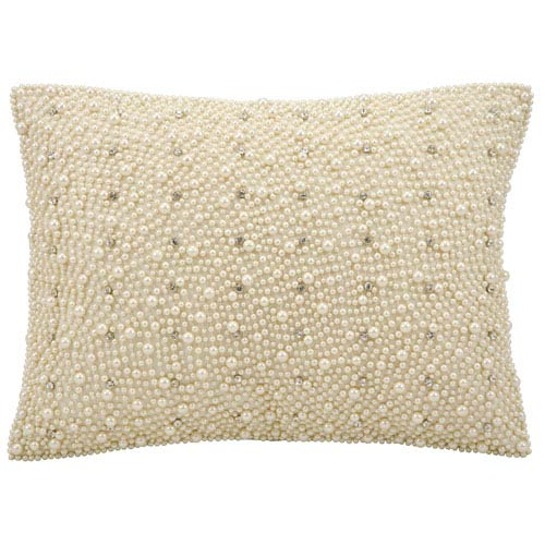 Ivory 12 x 16-Inch Decorative Pillow