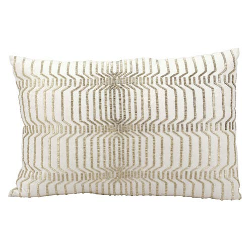 Ivory 16 x 24-Inch Decorative Pillow