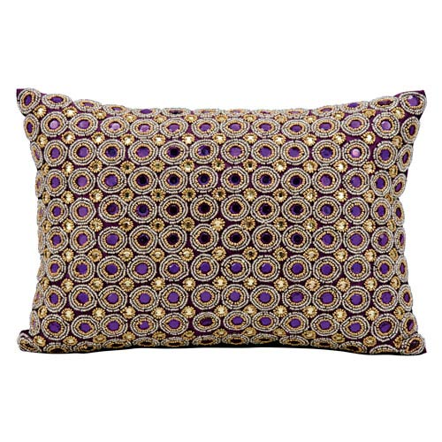 Kathy Ireland Home Purple 40 X 40 Inch Decorative Pillow Interesting Cheap Decorative Pillows Under 10